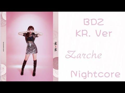 Twice - BDZ KR. Ver (Nightcore Audio)