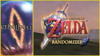 🔴 Ocarina of Time: Randomizer #01 — RL4RSN3YGA69VKBAAA (Seed: Cthulhu31)
