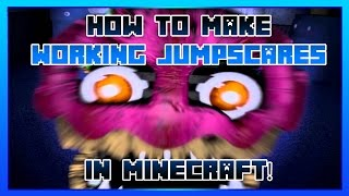 How To Make Jumpscares In Minecraft!