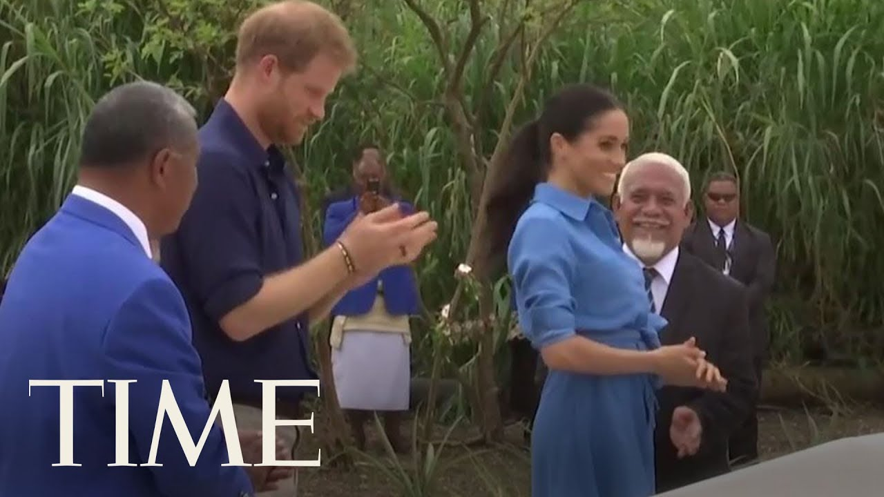 Prince Harry And Meghan Markle Dedicated Two Forest Reserves In Tonga | TIME