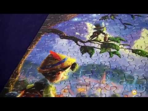 Thomas Kinkade The Disney Dreams Collection: Pinocchio Wishes Upon a Star Puzzle from Ceaco