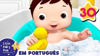 Desenho para Bebe | Canção do Banho - Parte 2 | Canções para Bebe | Little Baby Bum em Português