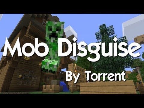 How to install and use Mob Disguise. (Check Descripton for remade video)