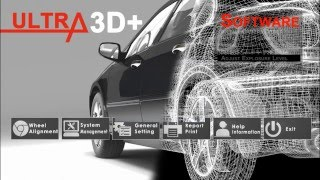 Ultra3D Series 3D Wheel Aligner Software Setup