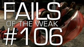 Fails of the Weak: Ep. 106 - Funny Halo 4 Bloopers and Screw Ups! | Rooster Teeth