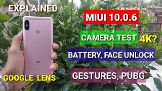 Redmi Note 5 Pro Miui 10.0.6.0 full review | Camera test (Google Lens), Battery performance, PubG