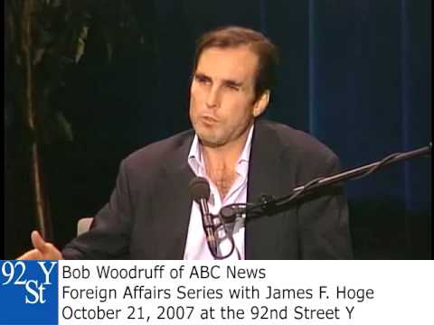 0 ABC News Journalist Bob Woodruff at the 92nd Street Y