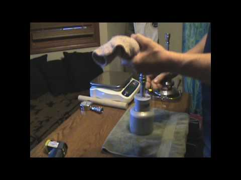 Tamisium Butane Oil Extractor Basic Series Video 1 Loading with Butane