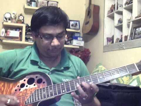 Tumhi Meri Mandir Tumhi Meri Pooja Solo On Guitar video