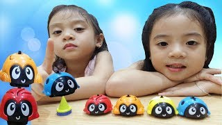 ♥ MIA AND KITTY ♥ OPEN  AND REVIEW TOY  BATTLE CYRO CAR
