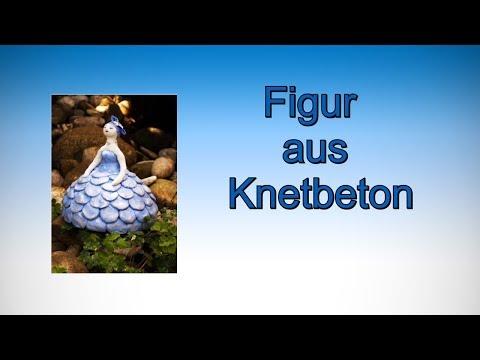 Figur aus  Knetbeton/RuthvonG