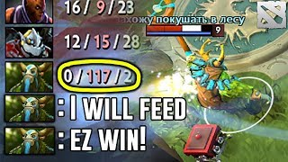 0-117 WIN GAME Feeding Comeback Dota 2 Dota 2