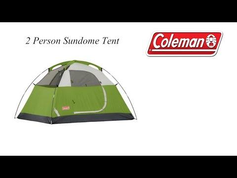 Coleman - 2 Person - Sundome Tent - MoLotto P4P - Unboxing & Set Up