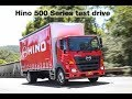 Test Driving Hino 500 Series Wide Cab mp3