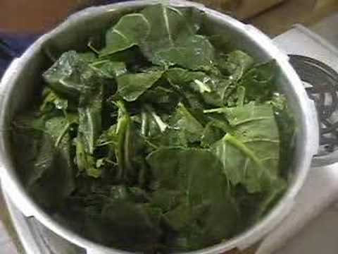 Cooking Collard Greens