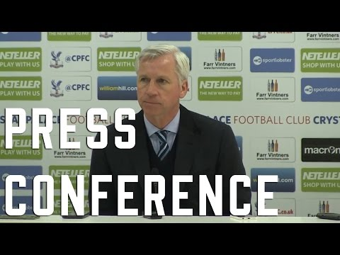 Alan Pardew Post Manchester City Press Conference