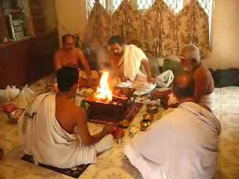 Ganapathy Homam 020509 video