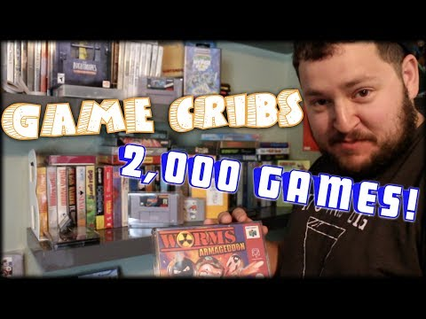 ULTIMATE GAME ROOM TOUR - Over 2,000 Games - All Killer No Filler - Game Cribs