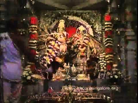Darshana Arati At Iskcon Bangalore video