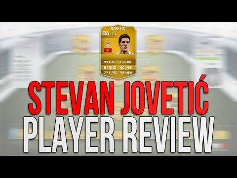 Fifa 14 FUT - Stevan Jovetic 84 Review & In Game Stats - Best All Round BPL Striker? Ultimate Team