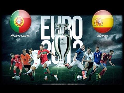Portugal V Spain Euro 2012 Semi Final 27/06/2012 (Official Predictor Highlights)
