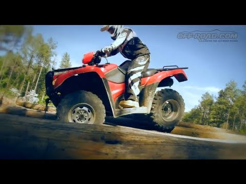 2012 Honda FourTrax Foreman 4x4 ATV Review