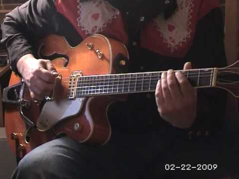 Hound Dog gretsch guitar solo
