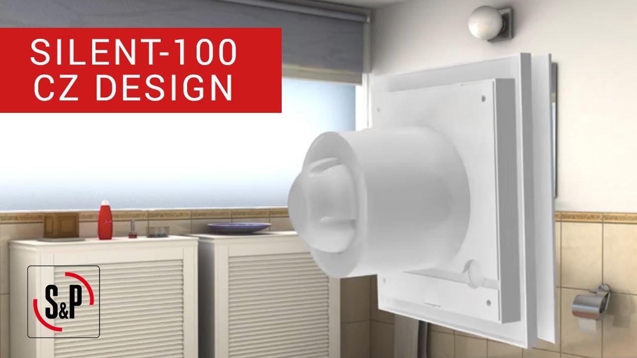 SILENT-100 CZ DESIGN S&P: Extractores de Baño (Instalación ...