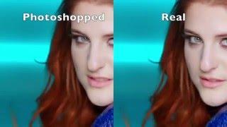 Meghan Trainor - Me Too (Photoshopped vs Real)