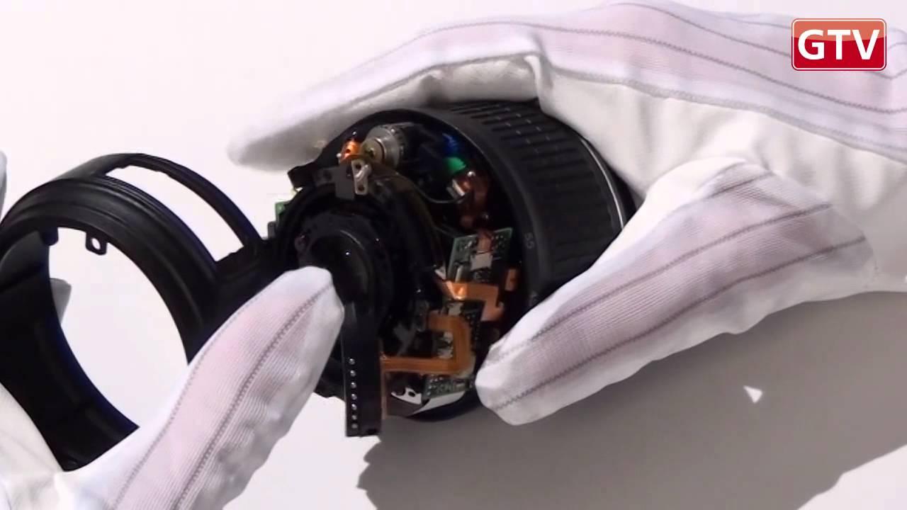 Ремонт объектива фотоаппарата своими руками