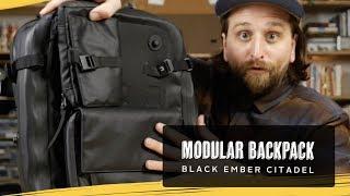 Black Ember Citadel & Modular Backpack Review