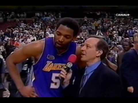 Robert Horry clutch shot in 2001 NBA Finals