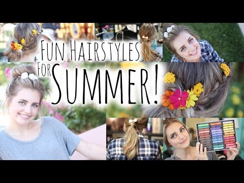 Cute NO HEAT Hairstyles for Summer! ! | Aspyn Ovard