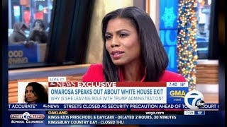 "Omarosa Resigns: ""Allot With The W.H. She Was Unhappy With"" (GMA)"