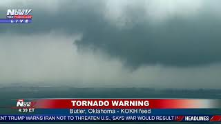 BREAKING: TORNADOES On The Ground In Oklahoma