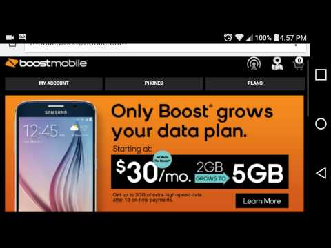 How to use boost mobile in mexico HD
