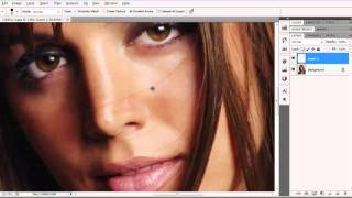 PHOTOSHOP CS5 - REMOVER CABELLO DE CARA