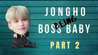 Ateez : Jongho being the BOSS BABY pt. 2