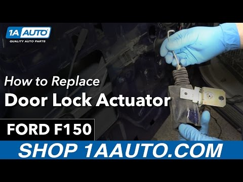 How to Replace Install Door Lock Actuator 98 Ford F-150