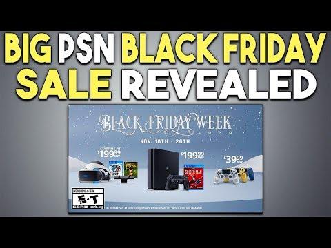 Big PSN Black Friday Sale Revealed - It's Starting Soon!