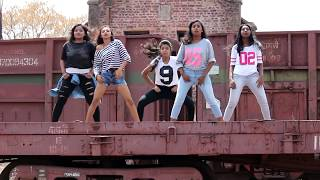 Chamma Chamma Dr Srimix - SM Girls, Nee choreography