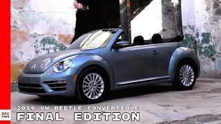 2019 VW Beetle Convertible Final Edition