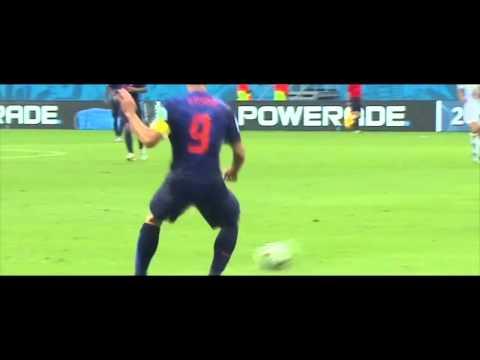 Robin Van persie vs Spain   Brazil World Cup 2014   HD   Individual Highlight   Amazing Header