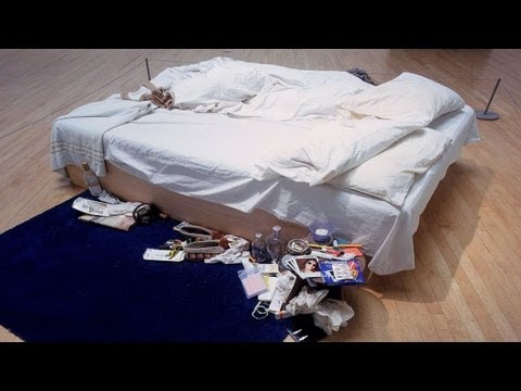 Tracy Emin about My Bed, 20 Years exhibition, HD