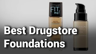 11 Best Drugstore Foundations 2019 - Do Not Buy Drugstore Foundation Before Watching this - Review