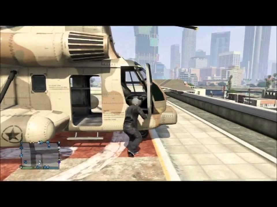 Gta 5 Cargobob Location Online Gta 5 Online Bad Ass