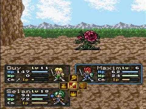 Misc Computer Games - Lufia - Battle 1