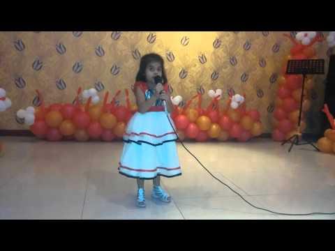 4 year old sings Mangal Bhawan ramayan chaupai