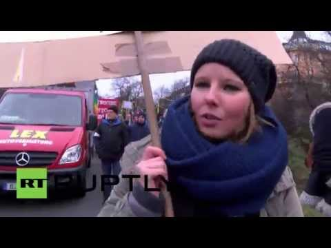 Germany: Thousands march in Berlin anti-NATO protest
