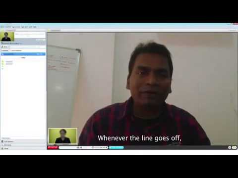 Indian Skype job interview  Network engineer Rakesh Mahanti is involved in possibly the WORST Skype